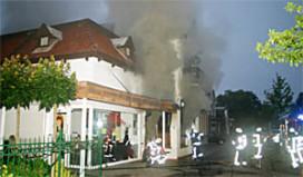 Café verloren gegaan door brand
