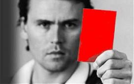 Eerste rode kaart in Enschedese horeca