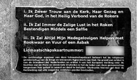 'Rokerskerk' lapt waarschuwing aan laars