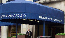 Krasnapolsky wil ondergronds parkeren