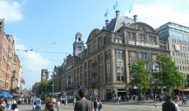Grootste warenhuisrestaurant in Amsterdam