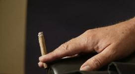 Politie schendt rookverbod
