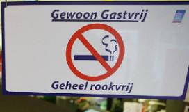 'Omzetdaling niet door rookverbod
