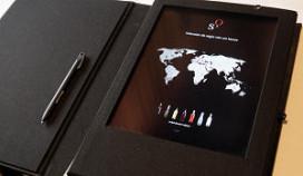 Digitale wijnkaart bij Oud Sluis