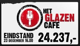 Glazen Café brengt € 24.237 op