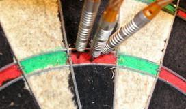 Dartsport geraakt door rookverbod