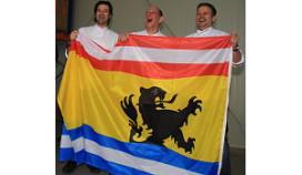 Topkoks hebben primeur Zeeuws-Vlaamse vlag