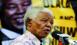 Steun Ins & Outs Catering voor standbeeld Mandela