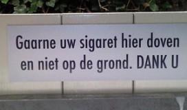 Amsterdam pleit voor asbakken bij horeca