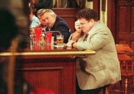 Barman Cheers ontslagen door crisis