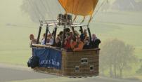 Drie Golden Tulip hotels lanceren culinaire ballonvlucht