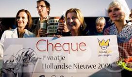 Eerste vaatje levert 66.000 euro op