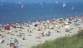 Noordwijk gaat bedienen op het strand