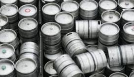 Fustprijs bier knalt door € 100,- grens