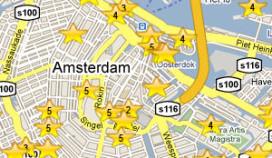 Amsterdam brengt hotellocaties in kaart