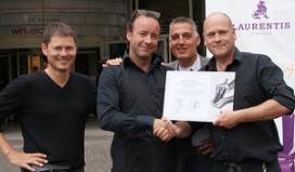Eerste Laurentis CafféMaestro certificaat voor Café Brinkmann