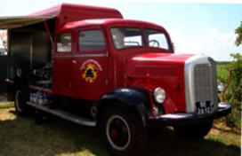 Brandweertruck wordt opvallende espressobar