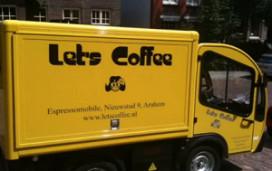 Espressowagen rijdt twitterend door Arnhem