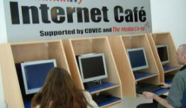 Steeds minder internetcafés