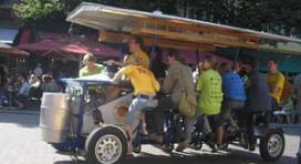 Verbod op bierfiets in Valkenburg
