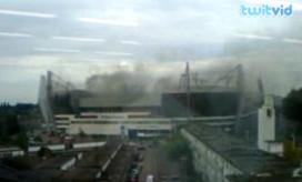 Cateringhulp ontdekt brand in stadion PSV