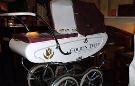 GT Jan van Scorel sponsort kinderwagen