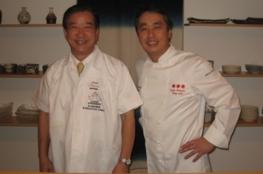 Japanse sterchef kookt bij Okura voor Nederlandse culiprofs
