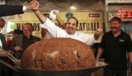 Restaurant maakt gehaktbal van 110 kilo