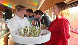 Albron sponsort en catert 'klimaatneutrale' treinreis