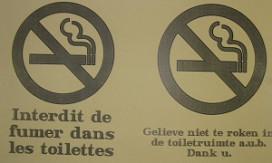 Rookverbod in België goed nageleefd