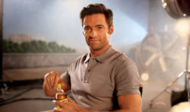 Hollywood-acteur Hugh Jackman nieuwe gezicht  Lipton Ice Tea