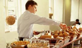 Hotelontbijt varieert van €1 tot €2095