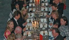 Linda de Mol complimenteert SAB Catering