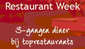 Reserveren Restaurantweek woensdag van start