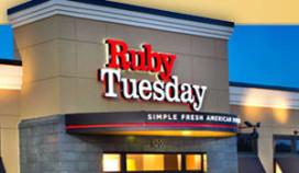 Restaurantketen Ruby Tuesday naar Verenigd Koninkrijk