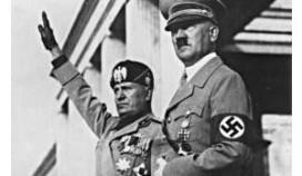 Italië: Mussolini aan tafel zorgt voor ophef