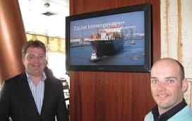 Delta Hotel geeft scheepvaartinformatie