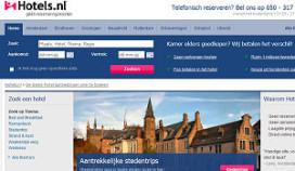 Website Hotels.nl in de prijzen