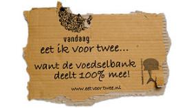 Restaurant Vandaag doneert aan Voedselbank