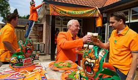 Heineken versiert horecazaken oranje