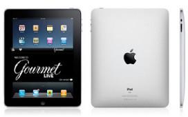 Opgedoekt culinair blad Gourmet keert terug op iPad