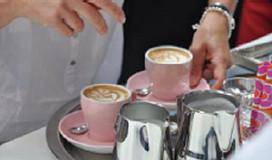 Claudie Donderwinkel zesde bij WK Latte Art