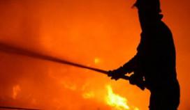 Brand verwoest voormalig hotel