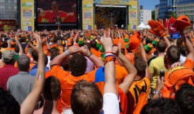 Horeca Amsterdam: 'WK op grote schermen