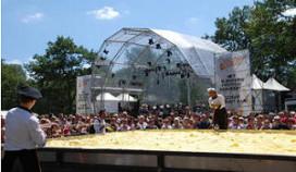 Hutten Catering en Sligro vestigen wereldrecord