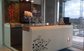 Mini-espressobar voor kantoor gelanceerd