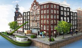 Amsterdamse horeca bevoorraad met elektrisch schip