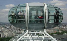 Ramsay kookt in de London Eye