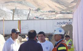 Sodexo helpt hulpverleners mijnramp Chili
