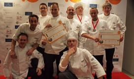 Culinair Team Amsterdam scoort bij Culinary World Cup